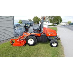 Used Kubota F3890 Out front rotary mower with rear discharge cutting deck