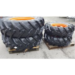 Shop Soiled x4 Agricultural Wheels/Tyres to fit Kubota M40/M60 Series Tractors