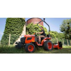 Kubota B1181 Manual, ROPS - Compact Tractor NEW