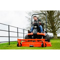 "Kubota F3890 c/w 60"" Deck - Out Front Rotary Mower"