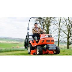 Kubota G21E HD High Tip - Ride on Mower
