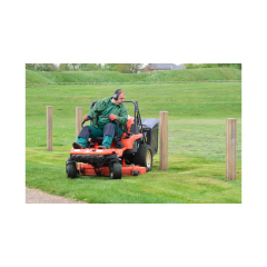 Kubota GZD21 c/w Hi Tip Collector - Ride on Mower