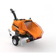Eliet MEGA PROF Towed Shredder (Diesel)