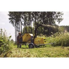 TS Industrie WS/16-35 Towed Chipper