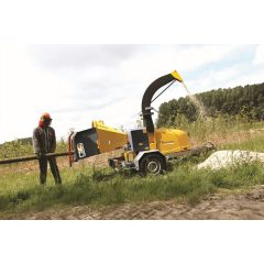 TS Industrie WS/18-35D Towed Chipper