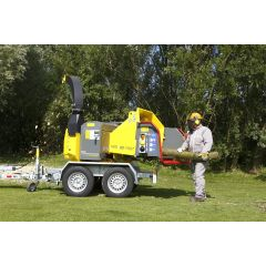 TS Industrie WS/23-75 DT 23cm Wood Chipper