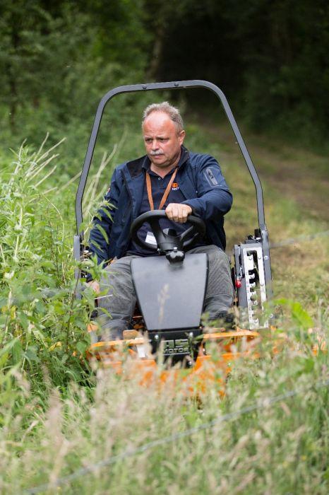 AS 1040 YAK 4WD Flail Mower | Gibson's Garden Machinery Ltd