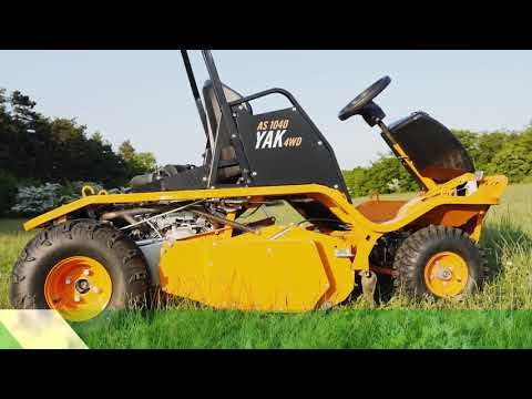 AS Motor AS 1040 YAK 4WD Flail Mower