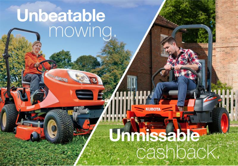 Claim up to £300 on your next new Kubota
