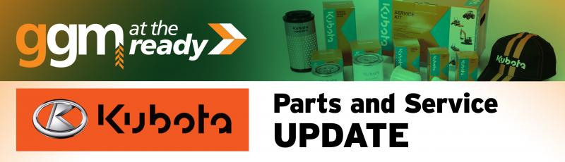 Kubota Parts and Service News