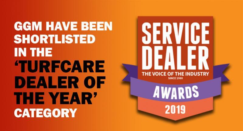 GGM Groundscare have been shortlisted in the Service Dealer Awards 2019!