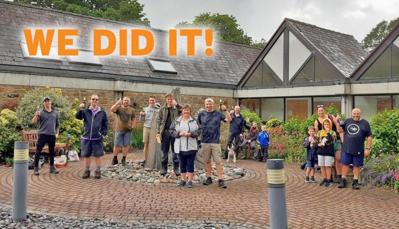 We Did It and Raised Nearly £4,000!